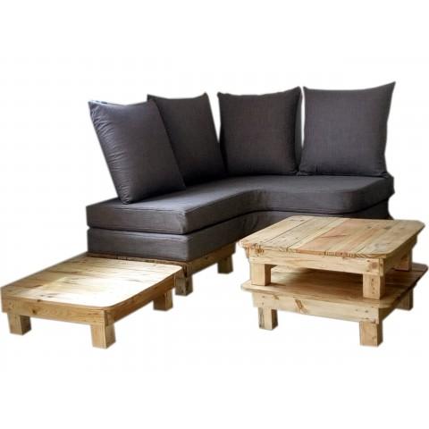 Banquette lit d'angle,sofa, confort meuble 4 en 1
