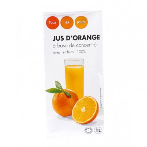 Jus orange 1 L Tous Les Jours