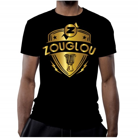 T-SHIRT 100% ZOUGLOU LOGO DESIGN OR